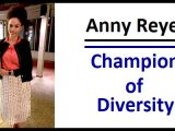 UC San Diego Department of Psychiatry Trainee Champion of Diversity Award Presented to Anny Reyes