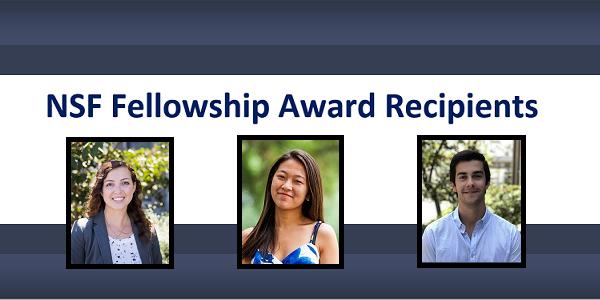 Six JDP Students Receive National Science Foundation Fellowship Awards