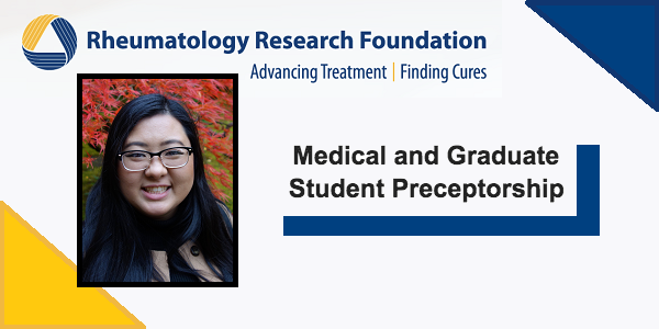 Alyssa Choi Awarded Medical and Graduate Student Research Preceptorship