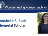 Emily Paolillo Recognized as an Annabelle B. Bush Memorial Scholar