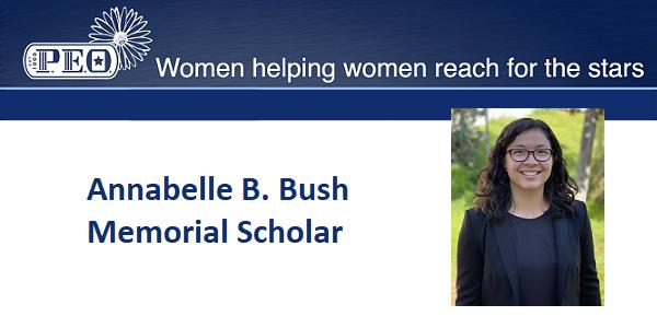 Emily Paolillo Recognized as an Annabelle B. Bush Memorial Scholar